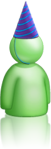 Green buddy icon